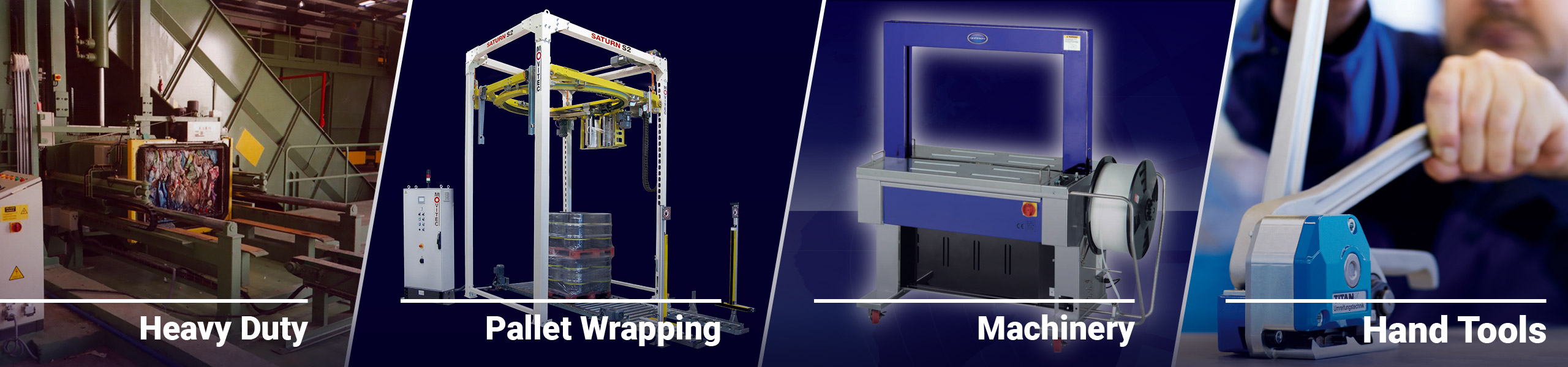 Paktech Strapping and Pallet Wrapping Machinery